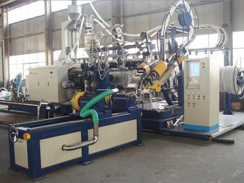 HDPE/PP Profiles Spiral Winding Pipe Production Line