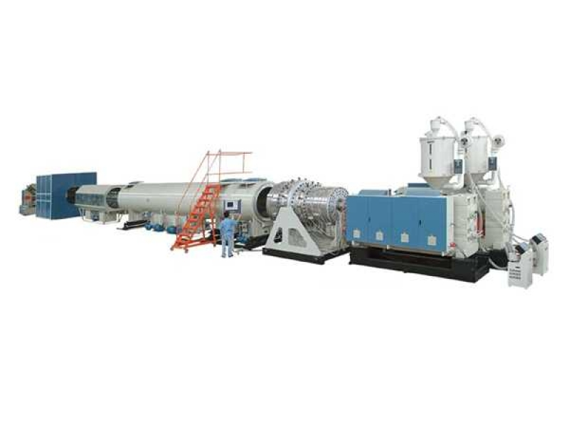 HDPE Large Dia. Water_Gas Supply Pipe Production Line