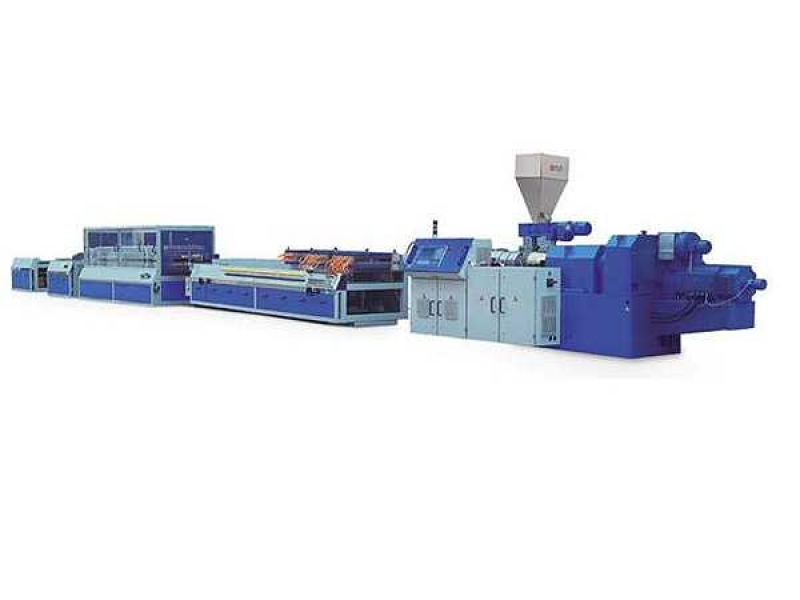 WPC/PVC Door and windowsill board extrusion line