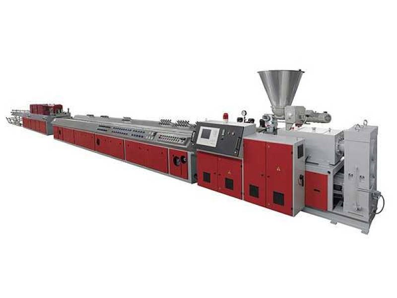 WPC Wood-plastic profile extrusion line