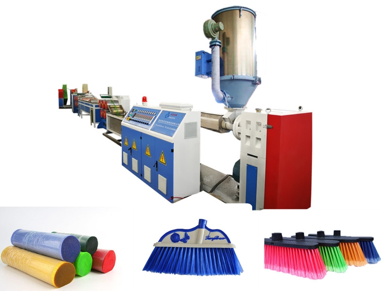 PET Broom Filament Extruding Machine