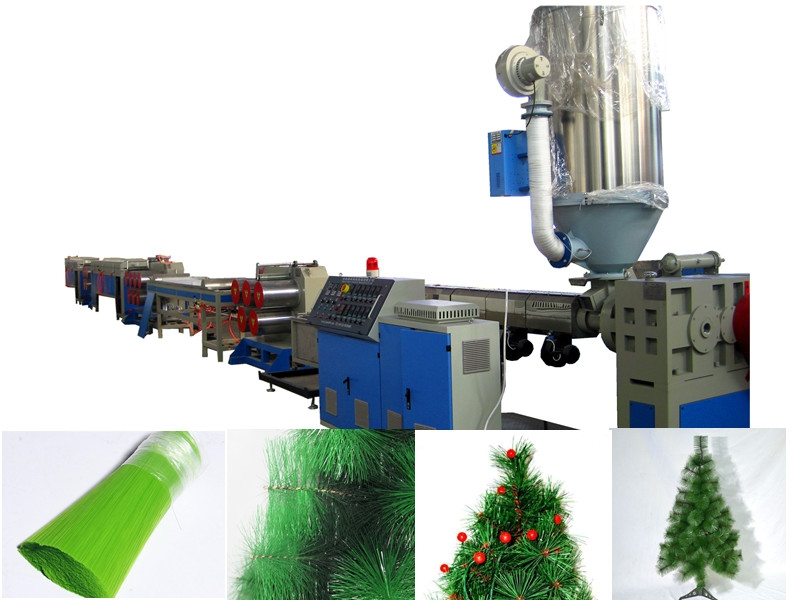 Plastic Christmas Tree Needles Filament Machine