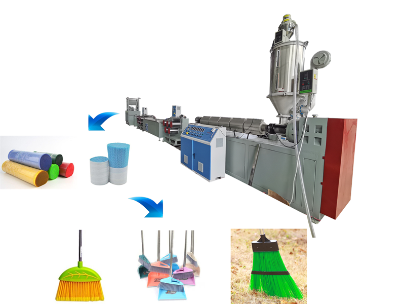 PP Broom Filament Extruding Machine
