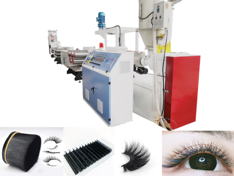 Plastic PBT Synthetic Eyelash Filament Extruding Machine