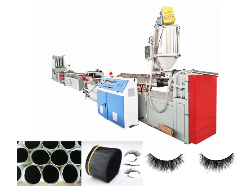 Plastic PET Synthetic Eyelash Filament Extruding Machine