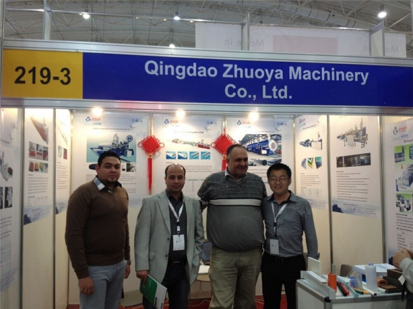Zhuoya Machinery on Saudi 4P Show